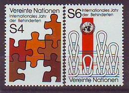 UNITED NATIONS Vienna 17-18,unused - VN