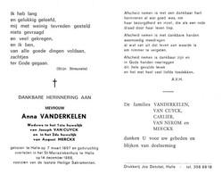 Anna Vanderkelen (1897-1988) - Andachtsbilder