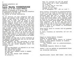 Laura Martha Vanderjeugd (1908-1991) - Andachtsbilder