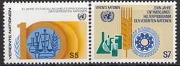 UNITED NATIONS Vienna 21-22,unused - VN