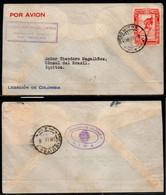 CA098- COVERAUCTION!!! - PERU 1938 - CONSULAR COVER LOCAL USE IN IQUITOS - Peru