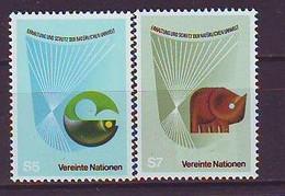 UNITED NATIONS Vienna 27-28,unused - VN