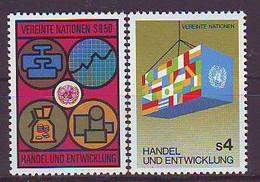 UNITED NATIONS Vienna 34-35,unused - VN