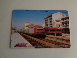 Train Associação Portuguesa Dos Amigos Do Caminho De Ferro Portugal Portuguese Pocket Calendar 2007 - Small : 2001-...