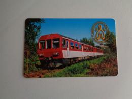 Train Syndicate Portugal Portuguese Pocket Calendar 2001 - Small : 2001-...