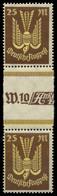 D-REICH INFLA Nr 236ZS Postfrisch ZW-STEG PAAR X8268DA - Unused Stamps