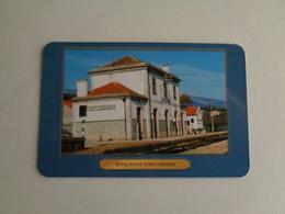 Train Junta De Freguesia Do Entroncamento Estação De Tortozendo Portugal Portuguese Pocket Calendar 2001 - Small : 2001-...