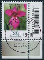 BRD BUND DS BLUMEN Nr 3471 Zentrisch Gestempelt ECKE-URE X30A8D6 - Gebraucht