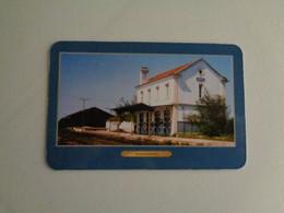 Train Junta De Freguesia Do Entroncamento Estação De Muge Portugal Portuguese Pocket Calendar 2001 - Small : 2001-...
