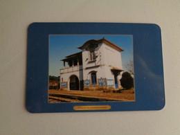 Train Junta De Freguesia Do Entroncamento Estação De Mondim De Basto Portugal Portuguese Pocket Calendar 2001 - Small : 2001-...