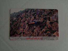 Train Junta De Freguesia Do Entroncamento Ponte Na Linha Do Tua Pocket Calendar 2005 - Small : 2001-...