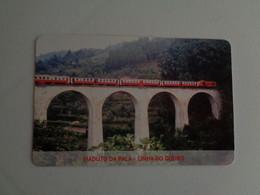 Train Junta De Freguesia Do Entroncamento Viaduto Da Pala Linha Do Douro Pocket Calendar 2005 - Small : 2001-...