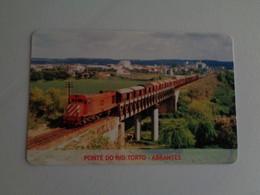 Train Junta De Freguesia Do Entroncamento Ponte Do Rio Torto Abrantes Pocket Calendar 2005 - Small : 2001-...