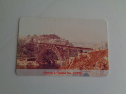 Train Junta De Freguesia Do Entroncamento Ponte Dª Maria Pia Porto Pocket Calendar 2005 - Small : 2001-...