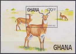 F-EX28214 GHANA MNH 1984 FAUNA KOB ANTELOPE. - Game