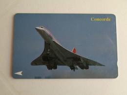 Phonecard Telécarte Concorde Singapore Telecom - Aerei