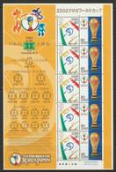 Japan 2002 Sc 2818-9  Souvenir Sheet MNH** Creases - Blocchi & Foglietti