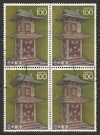 Japan 1989 Sc 1817  Block Used - Usati