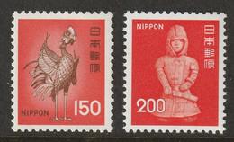 Japan 1976 Sc 1249-50  MNH** - Nuovi
