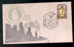 Argentine 1948 Le Premier Jour De Diffusion, Journée De La Sécurité Routière - Accidentes Y Seguridad Vial