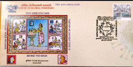 INDIA 2020 Salute To Covid-19 Warriors Coronavirus Health Vaccination Medicine FDC Cover (Limited) (**) Inde Indien - Nuovi