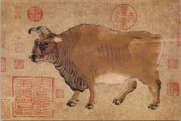 (3 A 10) China STAMPS Philatelic COWS Cards (3 Cards) - Altri