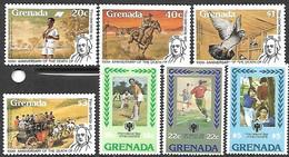 Grenada  1979   Sc#917-9, 926-9  Children & Rowland Hill Sets MNH   2016 Scott Value $7.15 - Grenada (1974-...)