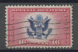 Etats Unis - Vereinigte Staaten - USA Poste Aérienne 1934-36 Y&T N°PA20 - Michel N°F375 (o) - 16c Pour Exprès - 1a. 1918-1940 Used