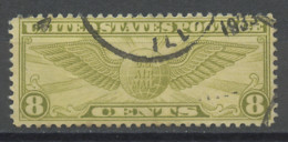Etats Unis - Vereinigte Staaten - USA Poste Aérienne 1932-34 Y&T N°PA16 - Michel N°F(?) (o) - 8c Insigne De Pilote - 1a. 1918-1940 Used