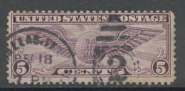Etats Unis - Vereinigte Staaten - USA Poste Aérienne 1930 Y&T N°PA12a - Michel N°F321 (o) - 5c Insigne De Pilote - 1a. 1918-1940 Used