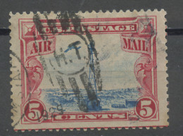 Etats Unis - Vereinigte Staaten - USA Poste Aérienne 1928 Y&T N°PA11 - Michel N°F310 (o) - 5c Phare De Sherman - 1a. 1918-1940 Used