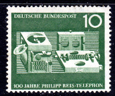 GERMANY - 1961 REIS TELEPHONE ANNIVERSARY STAMP MNH ** SG 1287 - Unused Stamps