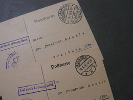 Gemany 2  Alte Belege  Frei Durch Ablösung SST Radolfzell - Covers & Documents