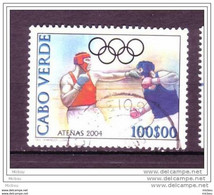 Cape Vert, Cabo Verde, Boxe, Box, Jeux Olympiques D'athène, Olympic Games - Pugilato