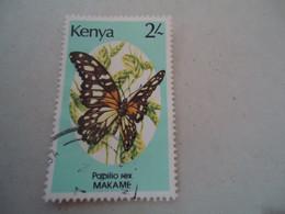 KENYA   USED STAMPS  BUTTERFLIES - Mariposas