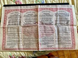 DETTE  7 1/2%  1933  De La  RÉPUBLIQUE  TURQUE  ------- Obligation  De  500 Frs - Unclassified