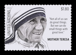 United Nations (New York) 2021 Mih. 1803 Mother Teresa MNH ** - Ungebraucht