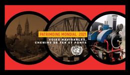 United Nations (Geneva) 2021 Mih. 1142/47 UNESCO World Heritage. Bridges, Waterways And Railways (II) (booklet) MNH ** - Ungebraucht
