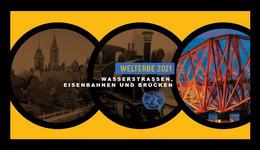 United Nations (Vienna) 2021 Mih. 1115/20 UNESCO World Heritage. Bridges, Waterways And Railways (II) (booklet) MNH ** - Ungebraucht