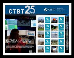 United Nations (Vienna) 2021 Mih. 1121/30 Comprehensive Nuclear-Test-Ban Treaty MNH ** - Ungebraucht