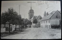 Censeau ( 39 Jura ) éditions CLB ( Hotel Central Et L'église ) - Other Municipalities