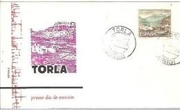 FDC 1966 TORLA  HUESCA - FDC