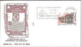 FDC 1983  UNIVERSIDAD  ZARAGOZA - FDC