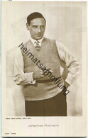 Johannes Riemann - Ross-Verlag 3219/1 - Actors