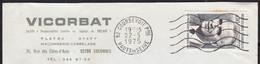 Président POMPIDOU  80c Y.T.1839 SEUL Sur Enveloppe En-tete PUB  De 92 COURBEVOIE  Le 22 5 1975  Pour 92000  NANTERRE - 1961-....