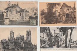 LAON  ( 02 )  LOT  DE  14  CPA  &  4  CPSM  DE  LAVILLE  ( Toutes Scalpées ) ( 21 / 9  242  ) - Laon