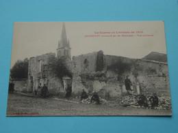 ANTHELUPT Bombardé Par Les Allemands - Vue Intérieure ( Bastien ) Anno 19?? ( Zie / Voir Photo ) La Guerre 1914 ! - Luneville