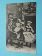 En BRETAGNE Moeurs Bretonnes - Danses Enfantines à La Ferme ( 564 ELD) Anno 1916 ( Zie / Voir Photo ) ! - Bretagne