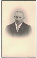 FRANCOIS DECOSTER VEUF EN PREMIERES NOCES DE MARIE ISENBAERT & EN SECONDE NOCES ANGELINE VAN DE VELDE NE A HAL 1867-1951 - Obituary Notices