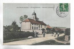70 - La Haute-Saône - ECHAVANNE - Maison Commune. Personnages - Other Municipalities